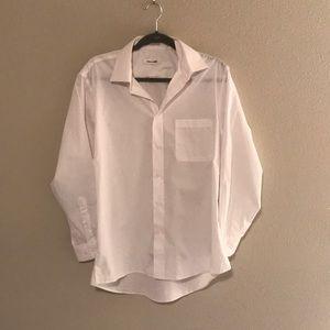 Pierre Cardin Mens Button Down Dress Shirt